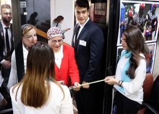 افتتاح مهرجان في حب أفريقيا بجامعة القاهرة