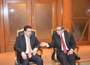 سعفان: جاهزون للتعاون مع العراق لتطبيق منظومة حوسبة السلامة المهنية