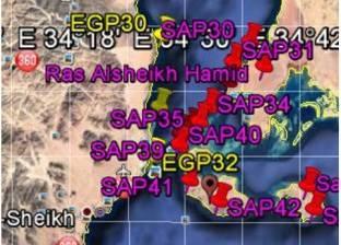 """""""الوطن"""" تنفرد بخريطة الحدود البحرية في البحر الأحمر لـ""""مصر والسعودية"""""""
