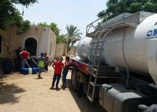 ضخ كميات من المياه لبعض الأحياء في وسط العريش
