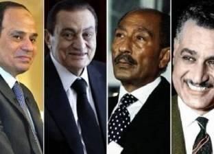 رؤساء مصر فى قلب «حراس البوابة الغربية»