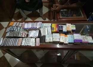 ضبط أدوية منتهية الصلاحية في 3 صيدليات بالشرقية