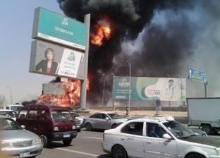 مصدر: القبض على سائق اللودر المتسبب بكسر خط الغاز في شارع التسعين