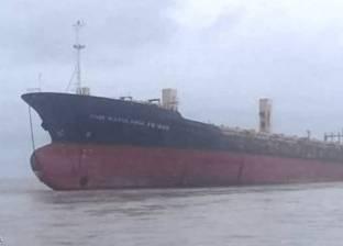 تفريغ 3200 طن صودا كاوية بميناء غرب بورسعيد