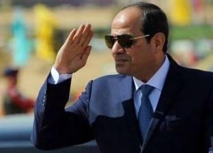 السيسي: أمنياتي القلبية للبطل محمد صلاح بالشفاء العاجل