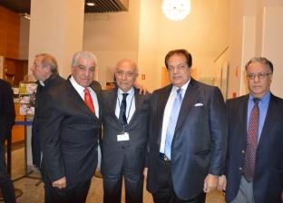 القنصل العام بميلانو يشارك في حفل تكريم زاهي حواس ومحمد أبو العينين