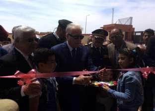 بالصور| محافظ جنوب سيناء يفتتح مدرسة أبورديس الثانوية الصناعية