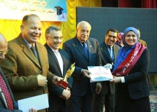 """جامعة المنيا تحصد المركز الأول في مسابقة """"الطالب والطالبة المثاليين"""""""