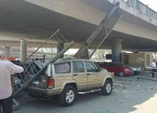 صور  نائب محافظ القاهرة: إصلاح كوبري أكتوبر أعلى ساحة عبد المنعم رياض