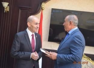 محافظ البحر الأحمر يستقبل سفير جورجيا لبحث زيادة أعداد السائحين