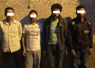 ضبط 5 عمال بتهمة التنقيب عن الآثار في الدرب الأحمر