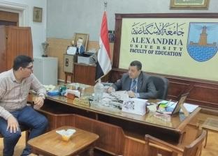 """""""تربية الإسكندرية"""" تستقبل 16 جهاز تكنولوجي لتطوير منظومة التعليم"""