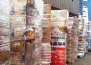 ضبط 4 أطنان دقيق مدعم ومصنع حلويات بدون ترخيص في الغربية