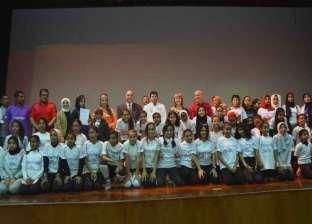"""وزير الشباب والرياضة يشهد فعاليات مشروع """"ألف فتاة.. ألف حلم"""" بالأقصر"""