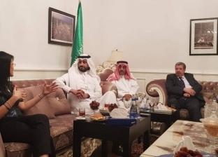 """سفير السعودية بأذربيجان يهنئ """"المشاط بعودة الطيران بين باكو والقاهرة"""
