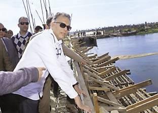 وزير النقل يوجه بسرعة إزالة التعديات على الموانئ النهرية
