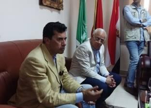 وزير الشباب يطالب بعمل شركة للاستثمار الرياضي لإدارة النادي المصري