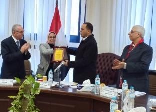 مجلس جامعة دمنهور يكرم المتميزين في مختلف المجالات