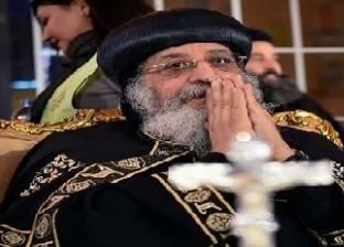البابا تواضروس يغادر القاهرة متوجها إلى الولايات المتحدة الأمريكية