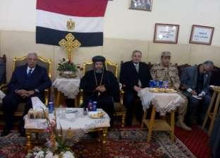 صور| أسقف ميت غمر بالدقهلية: مصر بأكملها تحتفل بعيد الميلاد المجيد