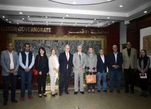 سفير إيطاليا بالقاهرة يزور الأقصر.. ويؤكد: علاقتنا مع مصر وثيقة وممتدة