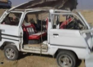 """""""الوطن"""" تنشر أسماء المصابين الـ14 في حادث ميكروباص مطروح"""