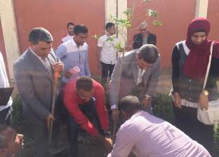 إعادة تدوير المخلفات ضمن فعاليات الأسبوع البيئي بجامعة المنيا