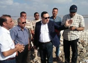 محافظ الإسكندرية يتفقد أعمال الإنشاءات الخاصة بوكالة الخضر الجديدة