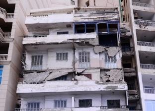 جدران وواجهات العقارات المنهارة قاتل جديد ينتظر أهالي الإسكندرية