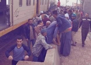 ضبط عامل المزلقان في حادث تصادم قطار وجرار زراعي في زفتى