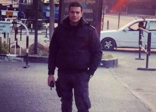 أول صورة للملازم علي شوقي الذي استشهد في تفجير سيارة أمن مركزي