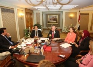 وزير التعليم العالي يلتقي مع وفد أسترالي لبحث سبل التعاون