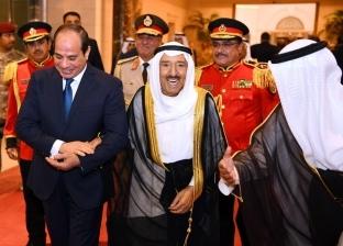 عاجل.. السيسي يستقبل نائب رئيس الوزراء الكويتي
