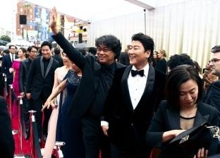 وصول صناع فيلم Parasite إلى حفل توزيع جوائز الأوسكار