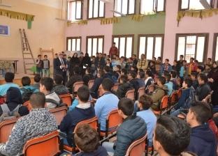 محافظ بورسعيد يتابع سير العملية التعليمية بعدد من المدارس