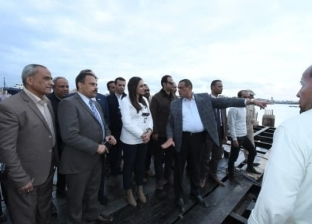 محافظ البحيرة يحيل اللجنة المشرفة على أعمال ميناء الصيد برشيد للتحقيق