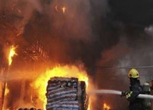 حريق في منزل و6 أحواش بسوهاج
