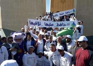"""انطلاق ماراثون """"أبناء النيل"""" بحضور وزيري الري والشباب في أسوان"""