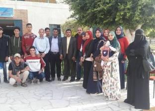 """""""الشباب والرياضة"""" تتواصل مع أسر الشهداء للاحتفال بيوم اليتيم"""