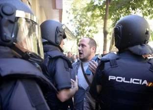 """آلاف من معارضي استقلال كاتالونيا يطالبون بـ""""التعقل"""""""