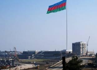 """اندلاع حريق في برج """"ترامب باكو"""" أحد أعلى الأبراج في العاصمة الأذرية"""