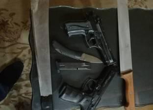 القبض على عامل بتهمة الإتجار في الأسلحة والذخائر بالغربية