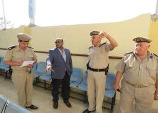 مدير أمن الغربية يتفقد مؤسسات كفر الزيات الشرطية