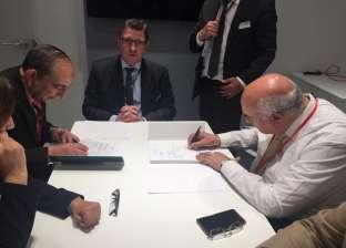 توقيع عقود شراء ماكينات لشركات الغزل والنسيج بـ270 مليون دولار
