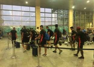 بعثة فريق الترجي التونسي تصل لمطار برج العرب استعدادا لمواجهة الأهلي