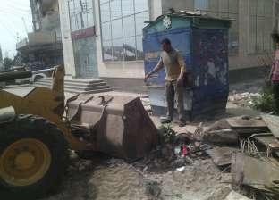 إزالة 148 حالة إشغال في حملة بمنيا القمح