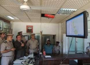مدير أمن سوهاج يتفقد المواقع الشرطية