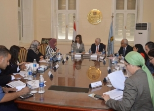 """وزيرة الهجرة تبحث مع وزير التعليم ترتيبات مؤتمر """"مصر تستطيع"""""""