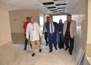 محافظ الإسماعيلية يتفقد أعمال التطوير الشامل للمستشفى العام