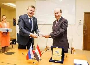 مميش: المنطقة الروسية في قناة السويس الأولى من نوعها خارج موسكو